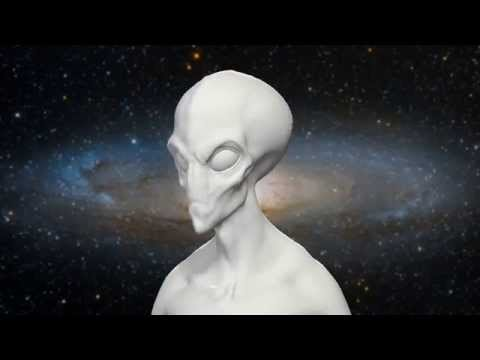 Andromeda Grey Alien Project - Movement Test Animation