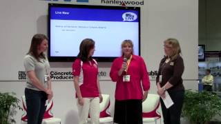 Women in Concrete Alliance at CC Live! World of Concrete 2013