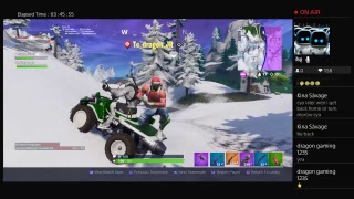 Playing Fortnite  Decent player Trolling people!