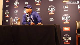 2021 NLDS: Dave Roberts explains AJ Pollock starts over Gavin Lux in 'do or die' Game 2 for Dodgers