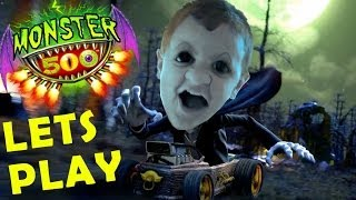 Lets Play MONSTER 500 w/ Mike (Toys R Us Carting App) iOS Facecam Gameplay