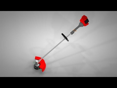 how does a string trimmer work lawn equipment repair tips. Black Bedroom Furniture Sets. Home Design Ideas