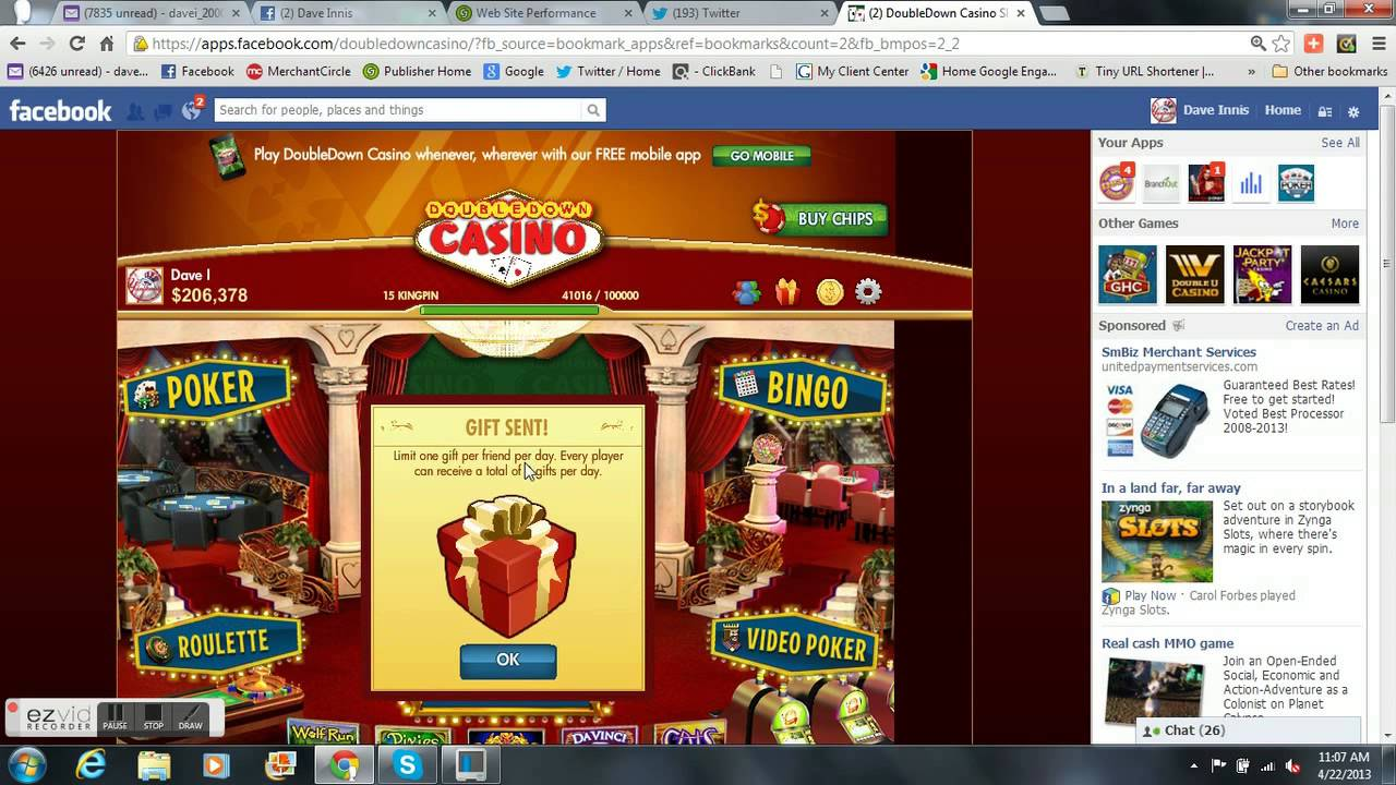 Promotion code double down casino