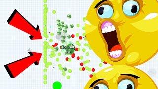 Agar.io Solo VS Noob Team RKO Unstoppable Boss Mode Agario Mobile Gameplay