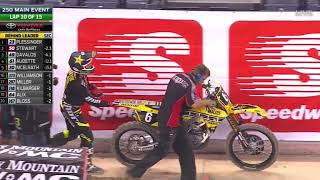 2016 AMA Supercross Rd 13 Indianapolis HD 720p slicknick610