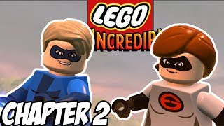 LEGO HOVER TRAIN HIJINX! -  Lego The Incredibles Gameplay - Chapter 2 (Kid Friendly Lego Gaming)