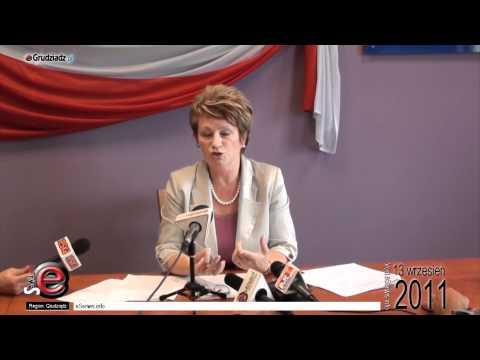 Konferencja prasowa: podatki, fundusz pracy - Marzenna Drab