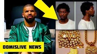 MAN ARRESTED in Drake's Jewelry Tour Bus Heist (Drake's DJ Jewelry Stolen)