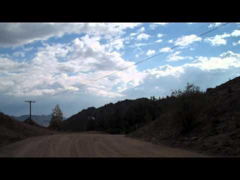 Climbing a Sandy Hill in Terelj
