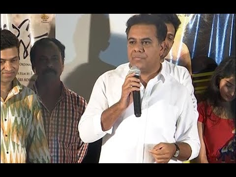KTR Superb Speech At Mallesham Movie Premiere Show Event