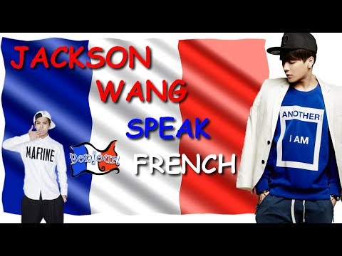 Jackson Wang speak French (Compilation)