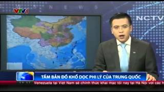 Trung Quốc phát hành bản đồ dọc phi lý