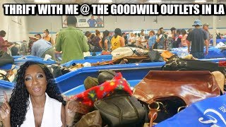 Come Thrift With Me 2019 | Thrifting at The Los Angeles GoodWill Outlet