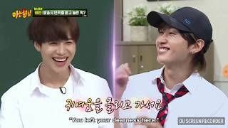 Eunhyuk×Heechul flirt Taemin