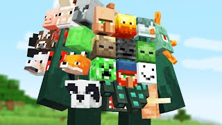 we Combined all the minecraft Mobs into One