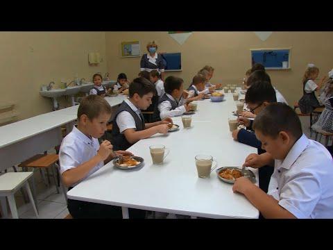 Бесплатное горячее питание школах