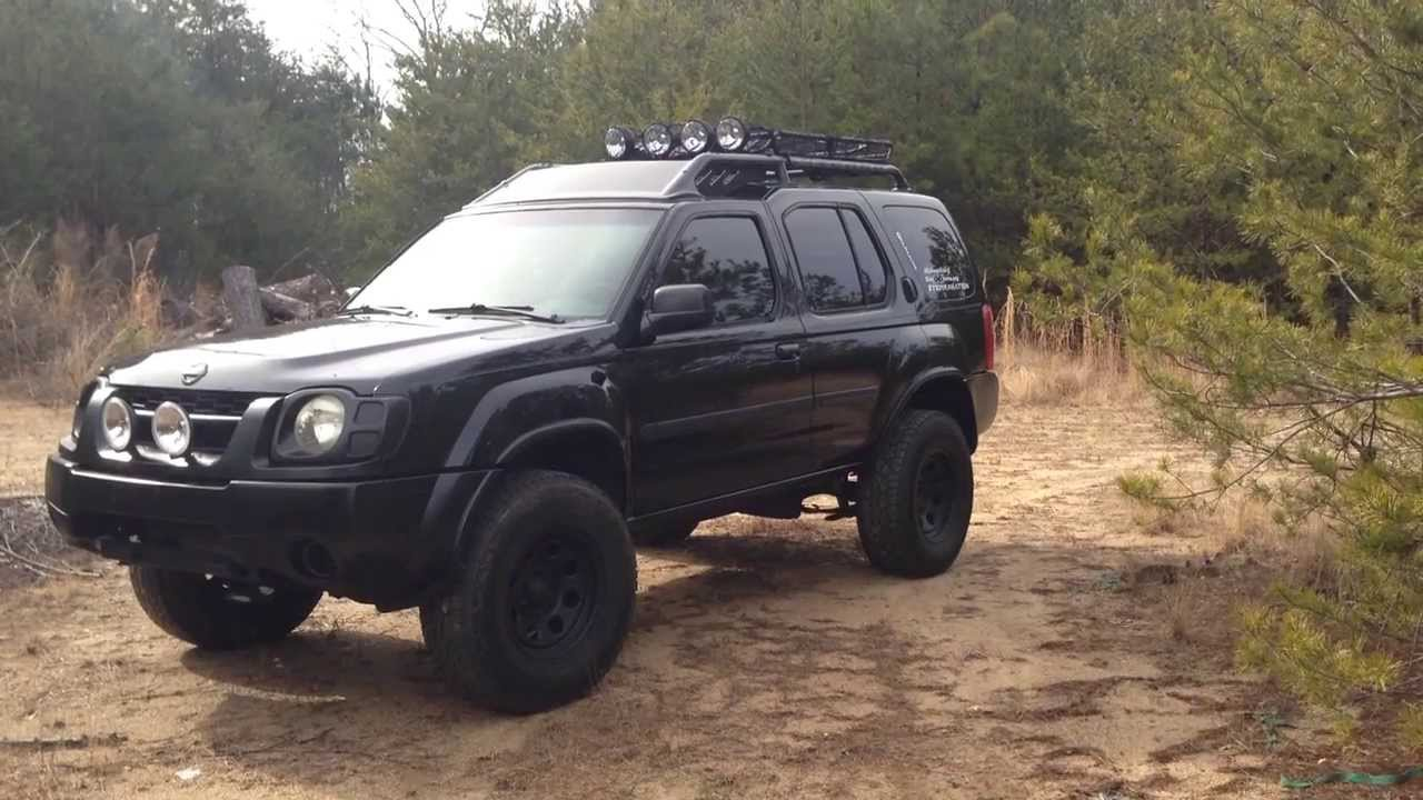 Lifted Blacked Out Xterra Update Winter 2014 Youtube