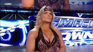 Womens Champion Mickie James and Beth Phoenix vs.