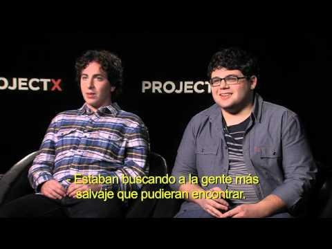 Entrevista a los protagonistas de PROJECT X (con subtítulos en español)