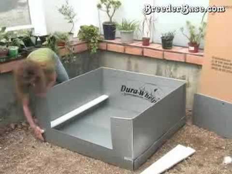 Assembling A Puppy Whelping Box The Dura Whelp 174 Youtube
