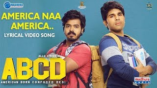 America Naa America Lyrical Video: ABCD Telugu Movie- Allu..