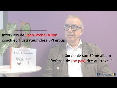 """Sortie du 3ème album de Jean-Michel Milon : """"Défense de [ne pas] rire au travail"""""""