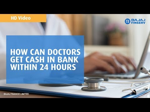 How Can Doctors Get Cash in Bank Within 24 Hours?