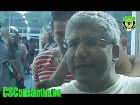 CS Constantine vs OGC Nice : Déclarations d'après match