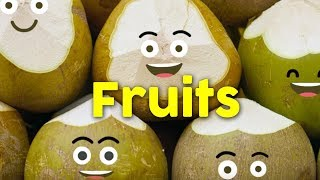 Fruits kids song   flash cards for kids - LaLa version