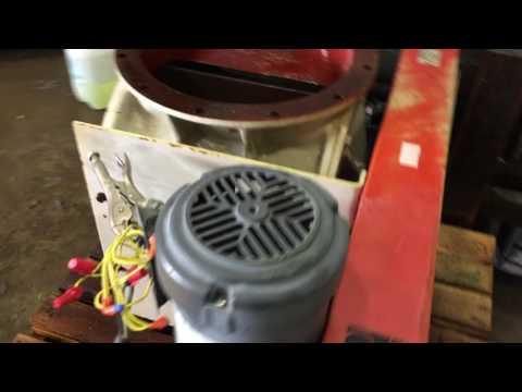 "Used 14""Ø Premier Pneumatics Rotary Airlock Valve"