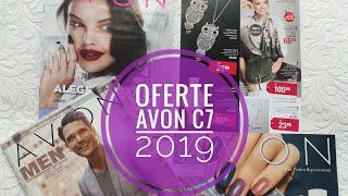 Oferte Avon C 7/2019 - Pliante, Avon Men, Oferta pentru reprezentanti, My Avon Magazine