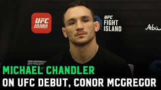 Michael Chandler: 'Conor McGregor is a better fighter than we all thought he was'