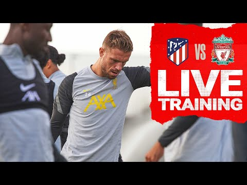 Champions League Training: Reds warm up ahead of Madrid trip   Atletico vs Liverpool