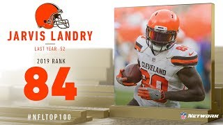 #84: Jarvis Landry (WR, Browns)   Top 100 Players of 2019   NFL