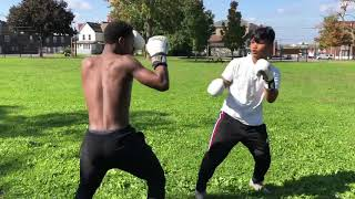 boxer vs street fighters street boxing