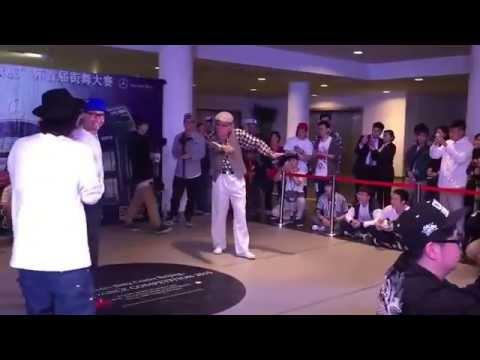 80-year old man Popping!! (Viho)