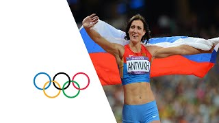 Natalya Antyukh (RUS) Wins 400m Hurdles Gold - London 2012 Olympics