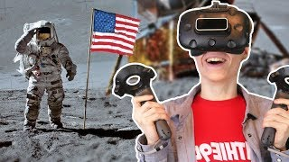 Apollo 11 HD VR Simulator Experience - Rocket Launch, Moon Landing & Spaceship Docking