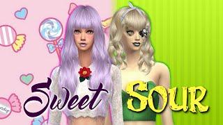 The Sims 4 - Sweet & Sour - (Create-A-Sim)