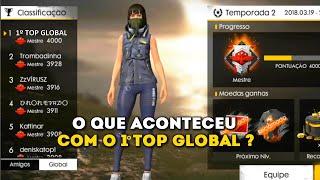 SAIBA QUEM FOI O 1º TOP GLOBAL DO FREE FIRE E O QUE ACONTECEU COM ELE