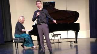 Zachary-Spring Recital 2017