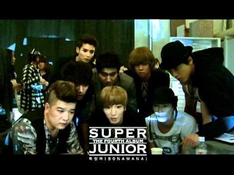 SUPER JUNIOR 슈퍼주니어 '미인아 (Bonamana)' MV Making Film
