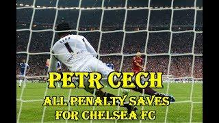 Tất cả pha cản phá Penalty của Petr Čech trong màu áo Chelsea.