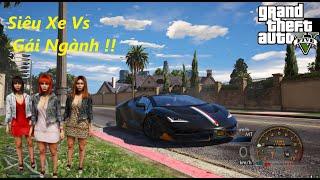 GTA 5 Thử Lòng Gái Ngành ! Bằng Siêu Xe Lamborghini LP-770R Và Cái Kết ...