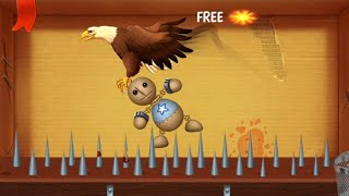 Spines Machine Vs Bald Eagle | Kick The Buddy