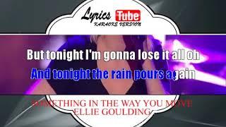 Karaoke Music ELLIE GOULDING   SOMETHING IN THE WAY YOU MOVE