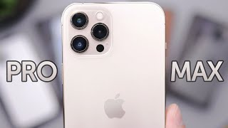 Gold iPhone 12 Pro Max Unboxing, First Impressions, & Cases!