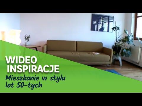 Mieszkanie w stylu lat 50-tych (wideo)