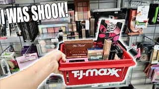 TJMAXX IS LIT! I CAN'T BELIEVE WHAT I FOUND! *MAKEUP DEALS*