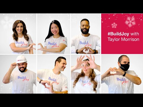 #BuildJoy with Taylor Morrison | 2020